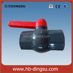 Hot sale pvc pipes and fitting pvc ball valve/plastic ball valves