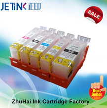 Refilling Ink Tank For Pgi-425BK Cli-426,Refilling Cartridges For Canon pixma is6550 mg 5150/5250/5350 With Auto Resetting Chips