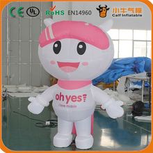 Hot promotion different types inflatable cartoon dog fast shipping