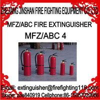 4kg 20% to 50% ABC dry powder fire extinguisher and accessories