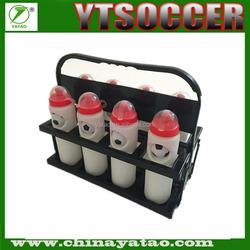 Plastic Foldable 8 Pack Plastic Drink Sports Bottle Carrier