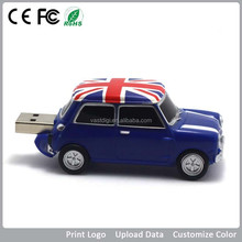 custom fashionable car shape usb sticks car usb flash drive logo