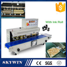 Stainless Steel Model Continuous Band Sealer for plastic bags