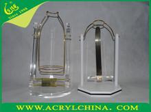 wine bottle holder /wine rack/acrylic wine glasses wholesale