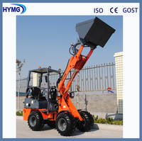 ZL125 mini front loader with tractor attachments