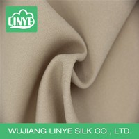 high elastic school uniform material fabric, polyester fabric used clothing