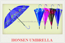 Honsen All kinds of fabric material Nylon,Pongee,polyester umbrella flat
