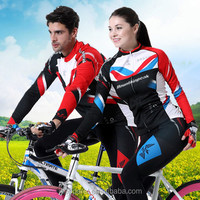 newest sports uniform top quality long sleeve cycling jersey customized bicycle sets bike clothes