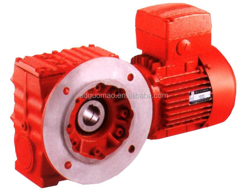 S Series Helical Electric Worm Gear Motor Worm Gearbox For