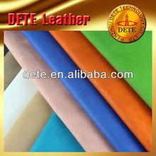 de la pu de cuero sintético material textil prima de cuero sintético