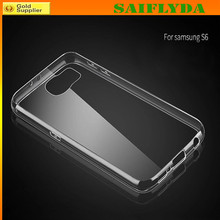 Clear Transparent TPU Case for Samsung S6 Edge,TPU Cell Phone Case