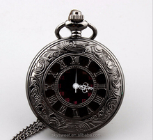 Retro gun color quartz pocket watch,watch for man and woman(SWTPR851)