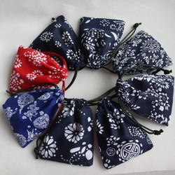 Characteristic Cotton Drawstring Bags/Pouches