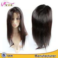 100 brazilian virgin human hair full lace wigs with baby hair kinky straight hair full lace wig