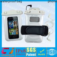 Hot swimming pvc waterproof phone case for iphone 5