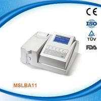 Automatic biochemical analyzer MSLBA11W-2015 Coagulation Machine/Biochemistry Analyzer