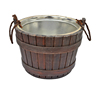 2l 3l 5l Wooden Ice Bucket Beer Keg with iron Inner