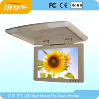 17Inch Flip Down Bus Monitor With Tv Tuner For Bus