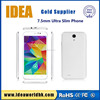 6 inch cheap oem wcdma ultra slim android mobile smart phone with replaceable battery