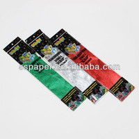 hot sale gift wrapping pape crepe paper cone