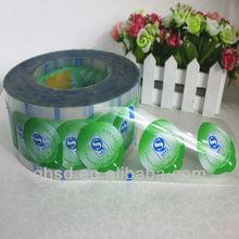 plastic colorful pe film / packaging laminating film roll / plastic laminating film roll