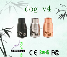 2015 New product vaporizer doge v3 new product dog v4 atomizer 1:1 clone high quality