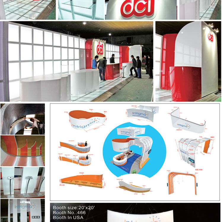 Exhibition Stall Manufacturer : Shanghai exhibition stall design and