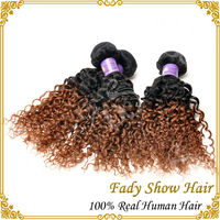 AAAAAA grade virgin remy brazilian hair weft romance curl human hair