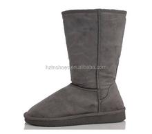 "Womens Boots Mid Calf 12"" Australian Classic Tall Faux Sheepskin Fur Six Colors"