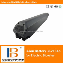 Electric bike bicycle battery with BMS, 36V13Ah assembly via SAMSUNG 18650
