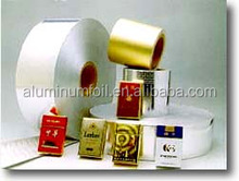 paper baked laminated aluminium foil paper for cigarette packing/food container