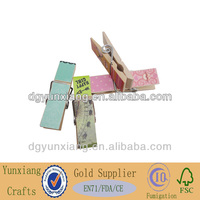 2014 hot sell wooden clothes pegs