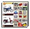 Cheap AX100 parts high quality motorcycle headlight AX100 parts