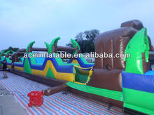 Inflatable Aqua Extreme Obstacle Course