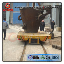 hot metal ladle transfer vehicle