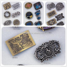 New hot sale zinc alloy pin metal square belt buckle