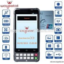 4.2 androide teléfono móvil terminal punto de venta de crédito lector de tarjetas
