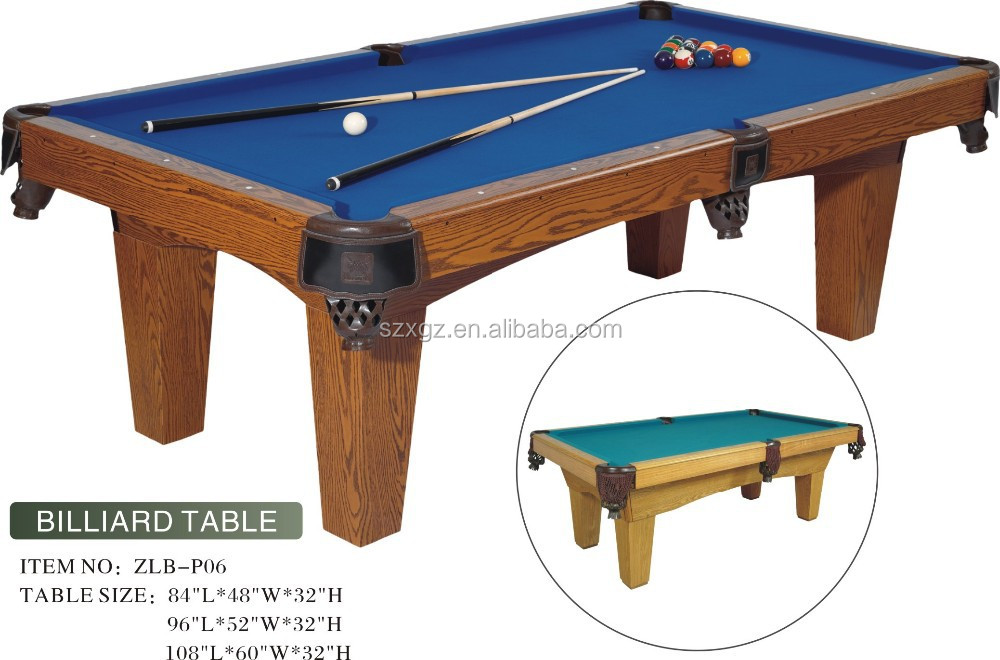 New 7ft High End Billiard Table Cheap Billiard Table For