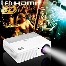 High brightness 1280x720 Home Theater Full HD 1080P LED Projector