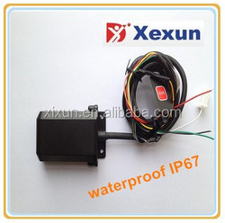 XEXUN waterproof gps motocycle tracker gps mobile tracker xt009 cut engine remotely free web software