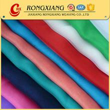 30D Polyester keqiao plain pure chiffon silk fabric