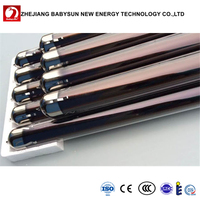 Purple gold solar vacuum tube for solar thermal in Peru