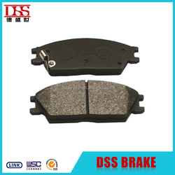 cheap auto part chinese brake pad for hyundai Mitsubishi