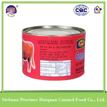 Chinese products wholesale beef products canned/pork/beef luncheon meat