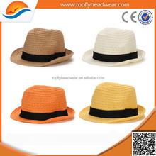Straw hat wholesale/foldable straw hat/beach straw hat
