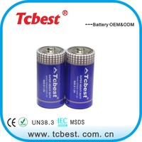 Tcbest 1.5v R20 flashlight dry battery manufacturer