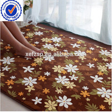 100% polyester microfiber living room carpet rug for children