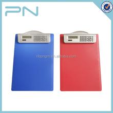 High qualitity A4 Size Clip board calculator