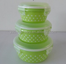 Hot-sale Glasslock food container with seal lid lunch box