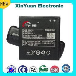 Customized lithium ion battery for mobile phones with competitive price and quality service